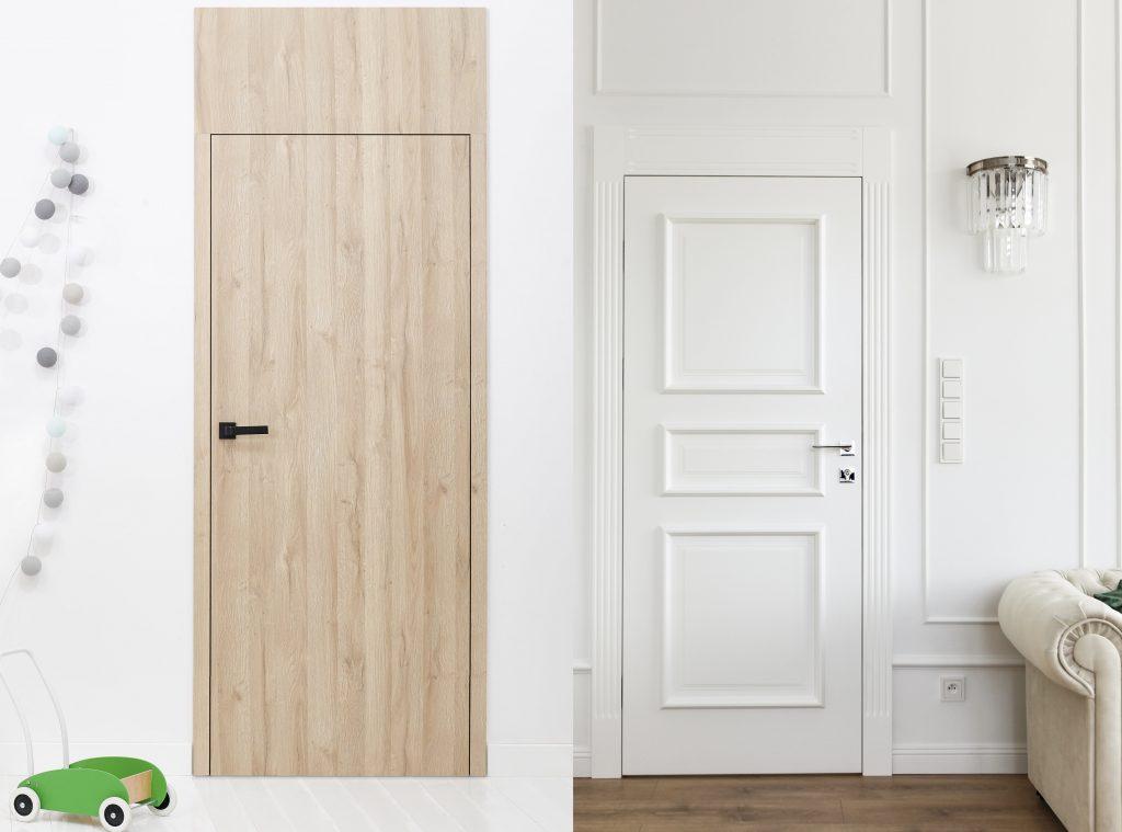 Drzwi PŁASKIE i drzwi FRESA