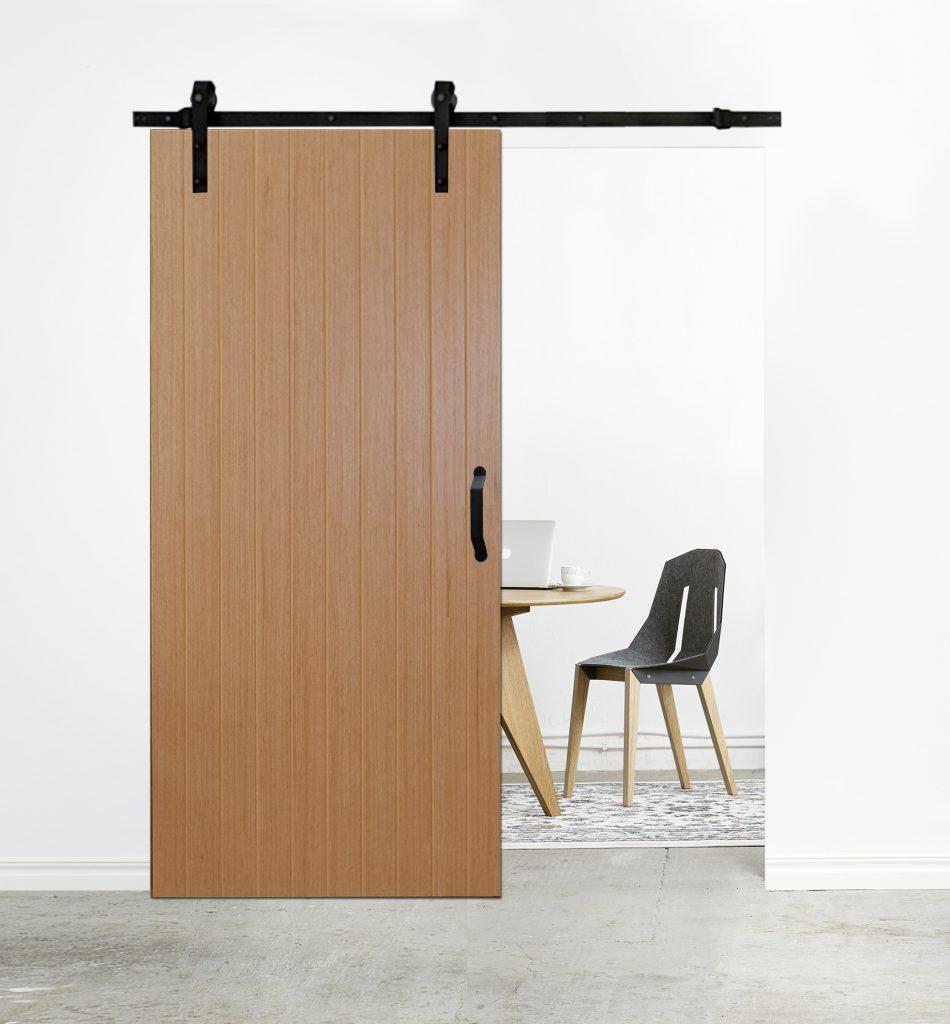 Drzwi ze wzorem - BARI 4 - system przesuwny REA