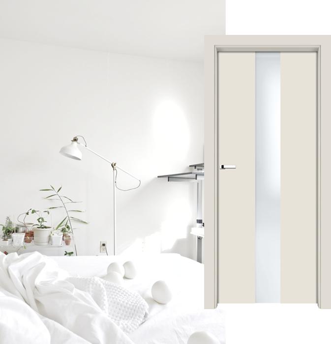 Styl minimalistyczny - drzwi LIVORNO