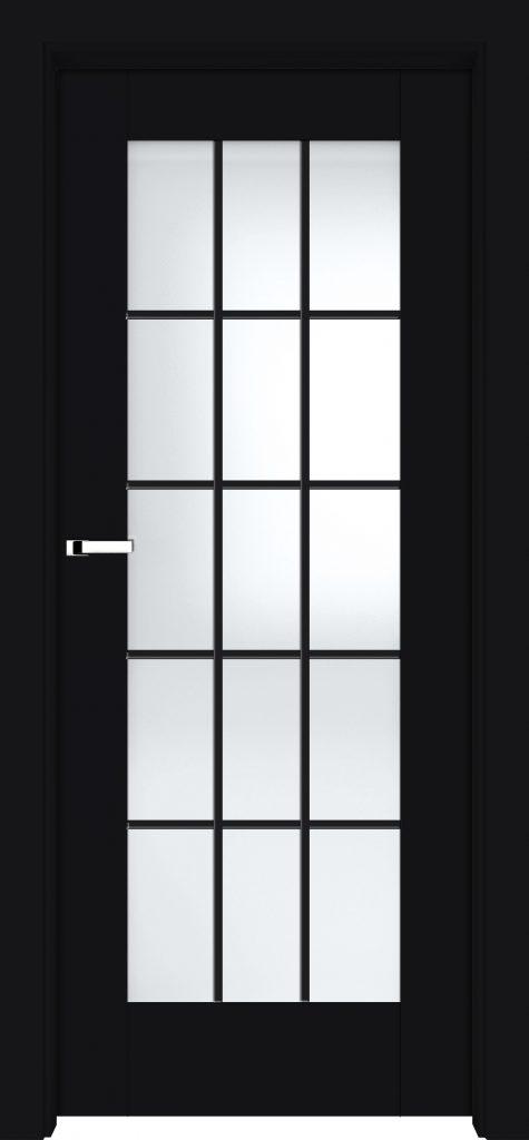 Drzwi do loftu - LOGGIA w czarnym black mat