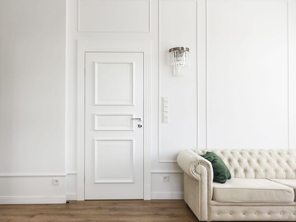 FRESA - stylizowana zabudowa ściany