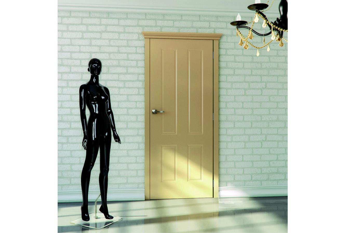 Klasyczne drzwi malowane