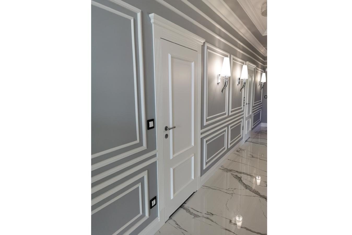 Białe klasyczne drzwi 3