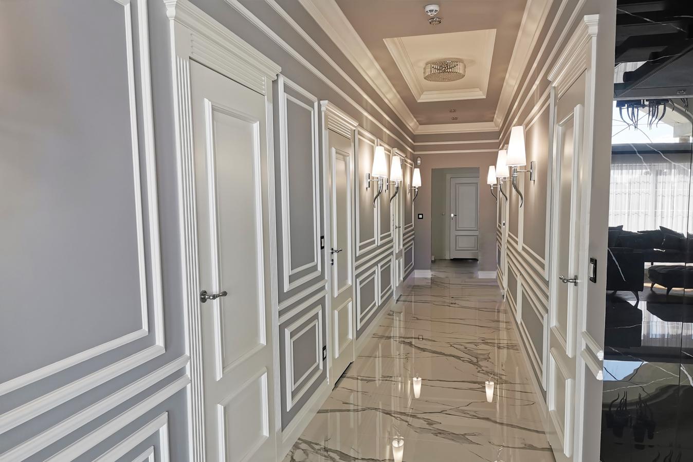 Białe klasyczne drzwi 4