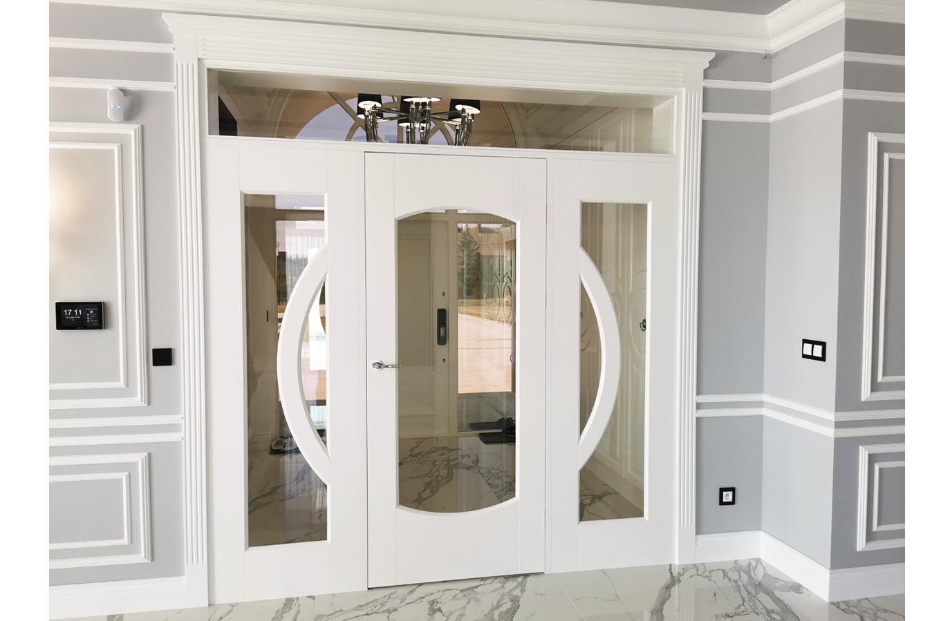 Białe klasyczne drzwi 5